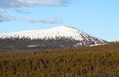 Iron Mountain On The Kola Peninsula. Russia
