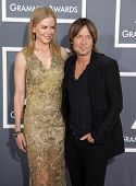 LOS ANGELES - FEB 10:  Nicole Kidman & Keith Urban arrives to the Grammy Awards 2013  on February 10, 2013 in Los Angeles, CA.