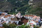 White village, Frigiliana, Andalusia.