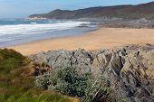 Barricane beach Woolacombe Devon