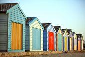 Cabañas de playa