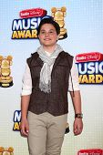 LOS ANGELES - APR 27:  Zach Callison arrives at the Radio Disney Music Awards 2013 at the Nokia Thea