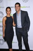 LOS ANGELES - MAR 10:  Jesse Metcalfe & Cara Santana arrives to the Paley Fest 2013 -