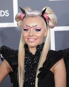 LOS ANGELES - FEB 10:  Kerli arrives to the Grammy Awards 2013  on February 10, 2013 in Los Angeles,