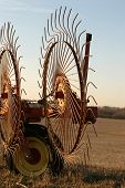 Wheel Rakes - Close-up