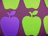 Paper Apple Cut Outs