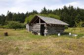 Pioneer Gebäude auf Bauernhof