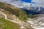 A View Of Stelvio Pass