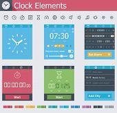 Clock elements