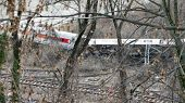 Metro North Train Derailment In The Bronx