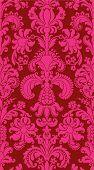 Постер, плакат: Бесшовные грубой Векторный фон от цветочный орнамент современные обои или текстиля