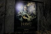 LOS ANGELES - DEC 2: Atmosphere, poster, display at the premiere of Warner Bros' 'The Hobbit: The Desolation of Smaug' at the Dolby Theater on December 2, 2013 in Los Angeles, CA