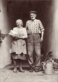 vintage photo-grandparents
