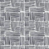 stock photo of dash  - Seamless abstract hand drawn pattern - JPG