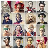 stock photo of halloween characters  - Characters - JPG