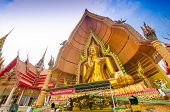 The Golden Buddha Image, Wat Tum Sue, Thailand