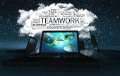Word Cloud With Teamwork