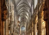Cologne Cathedral Interior Vault