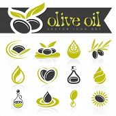 pic of oil can  - Olives and olive oil can be used in jobs related icons - JPG