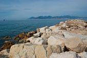 The Coastline Of Cannes