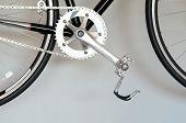 Closeup Of  Bike Pedal