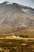 White Hut Under Stob Dearg