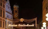 The Munich Christmas Markets.