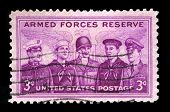 Us Postage Stamp Celebrating The Armed Forces