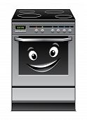 Fun modern stove kitchen appliance