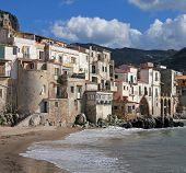 Italy. Sicily Island . Province Of Palermo. Cefalu.