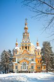 Zenkov Cathedral In Almaty, Kazakhstan
