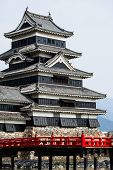 Beautiful Medieval Castle Matsumoto In The Eastern Honshu, Japan