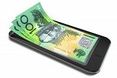 Smartphone Payments With Australian Dollars
