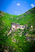Monastery Simonos Petra At Agion Oros Greece