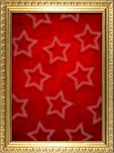 Frame with Christmas background.