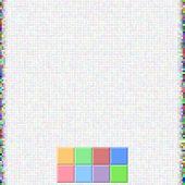 Pixel Color Square Background
