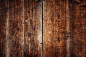 Textured Wooden Plank Vintage Background Concept