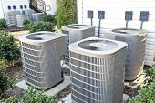 Air Conditioning Units At Complex