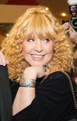MOSCOW - OCTOBER,7: Singer Alla Pugacheva. Premiere of the movie Solnechny Udar, October, 7, 2014 at Octyabr Cinema in Moscow, Russia