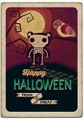 Halloween Poster. Vector illustration
