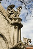University of Chicago Stone Sculpture