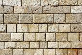 Decorative Mosaic Stone Wall