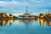 Monument at Suanluang Rama 9 public