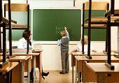 School Children In School