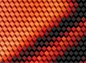 foto of parallelepiped  - Abstract pattern of geometric shapes - JPG