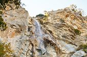 Waterfall Uchan-su Near Yalta In South Crimea