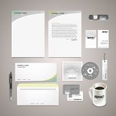Sparkling Background Corporate Identity Set