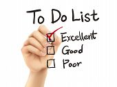 To Do List Checking By 3D Hand