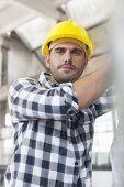 Portrait of manual worker working in industry