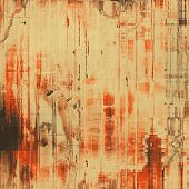 Old Texture. With different color patterns: brown, orange, gray